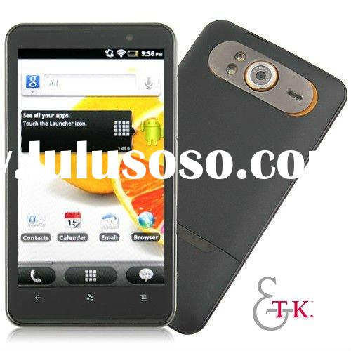 "HD7 MTK6573 3G Phone 4.3"" Capacitive TV GSM+WCDMA Android 2.3 GPS smart phone"