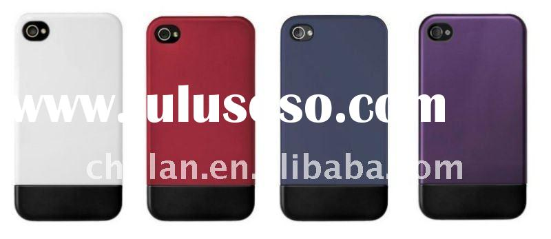 Hard case for iphone 4g /4s 2 parts in different colors