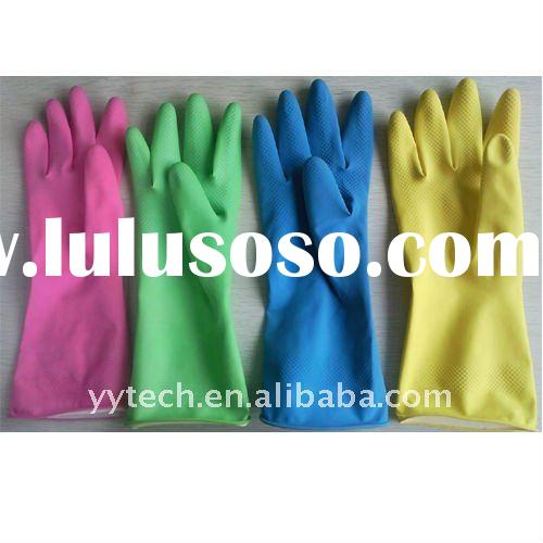 household rubber gloves/Household cleaning gloves/Household gloves