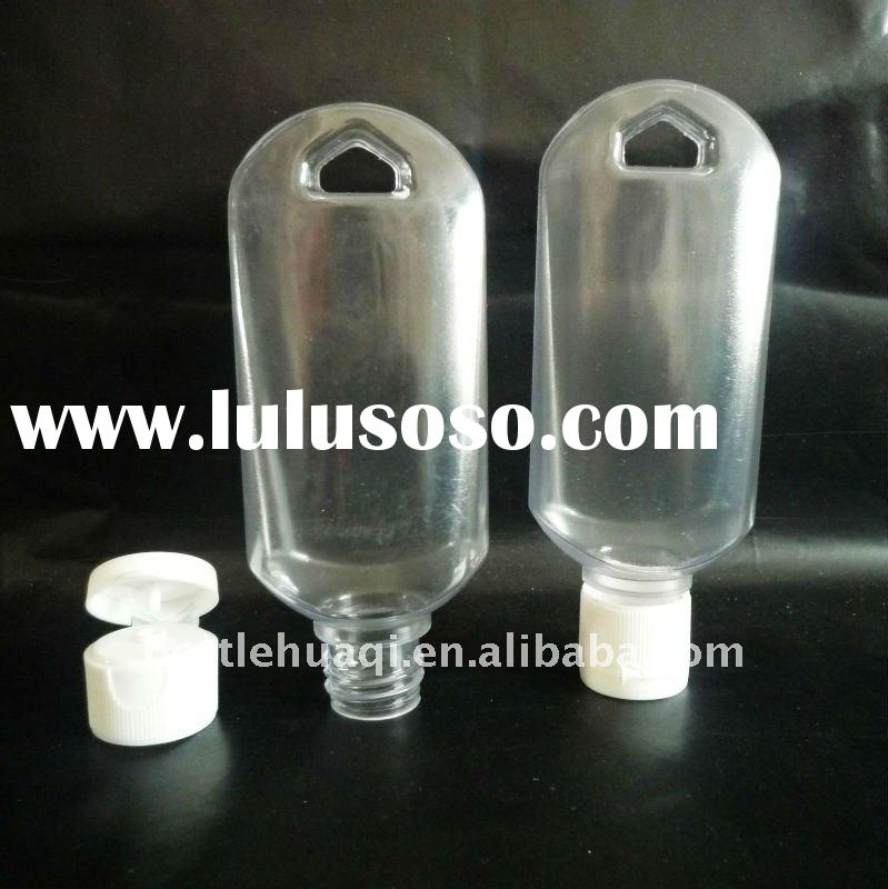 50ml PVC bottle with flip top cap