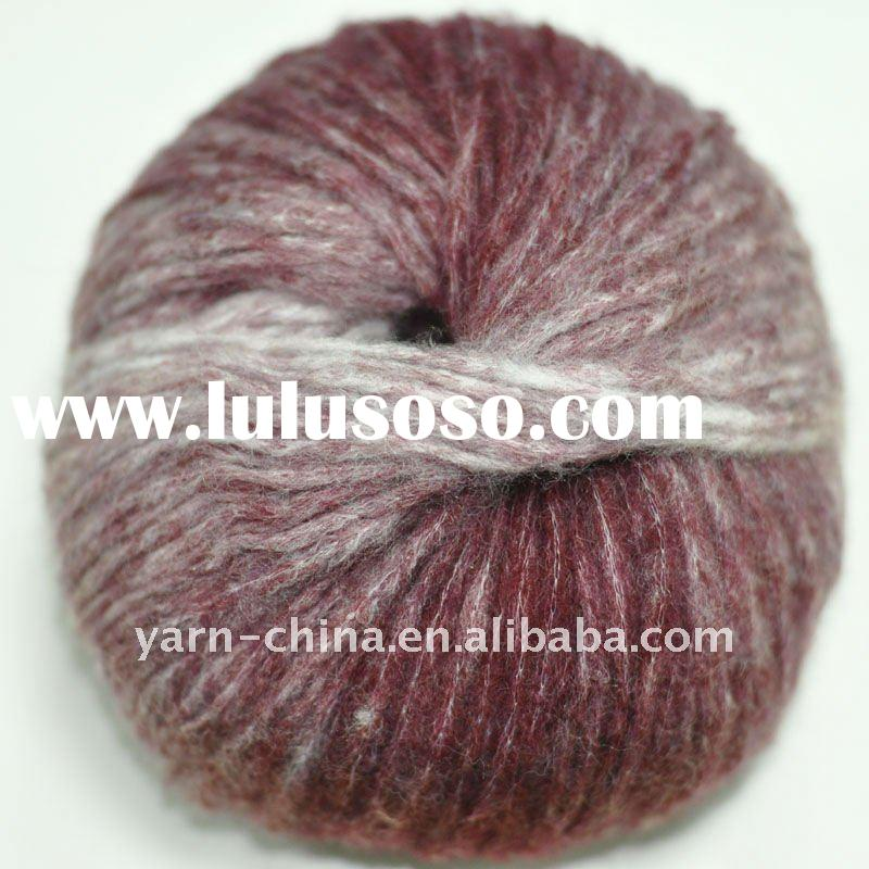 Acrylic yarn wool yarn knitting yarn