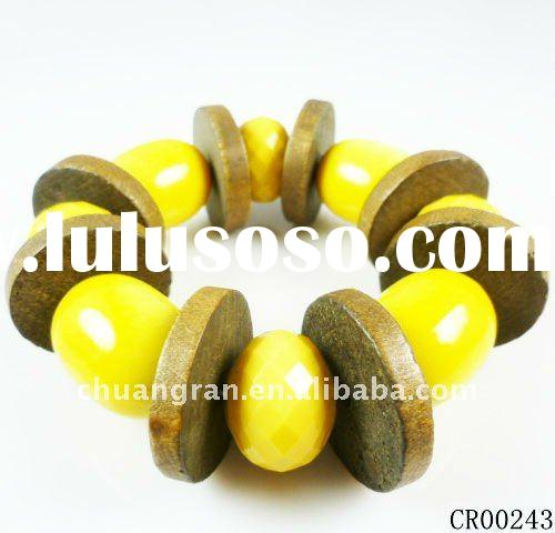 Fashion Jewelry,Cheap Wooden Bracelet