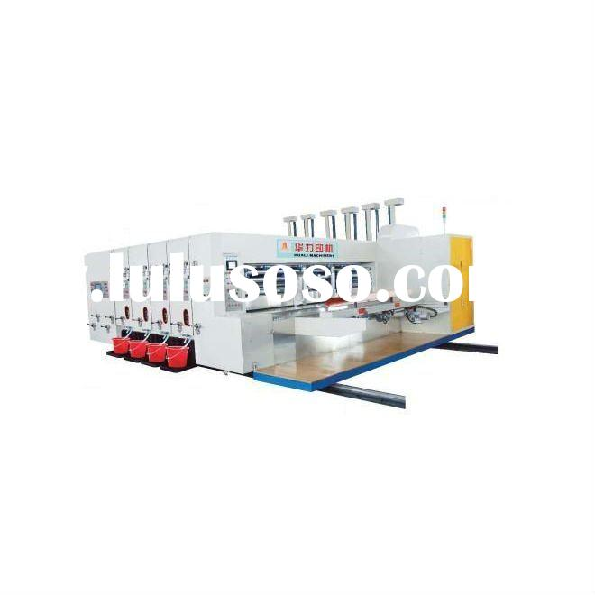 HL-A Carton Machinery Automatic High-Speed Flexo Printing Slotting Die-cutting Machine