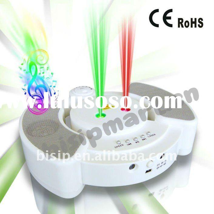 Mini Laser Stage Light with MP3 and Speaker