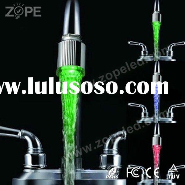 Thermostatic Kitchen Or Bathroom Water  LED Faucet