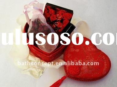 Valentine's body care products