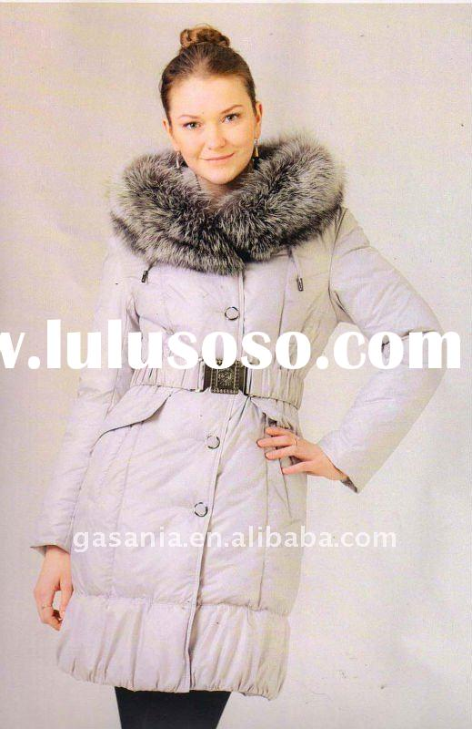 Women's down jacket hot sell 2011
