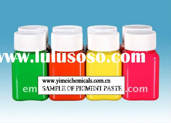 free sample of Water based coating pigment for textile  printing (Yimei decades of manufacturing exp