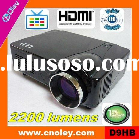 hd led projector 1080p built in tv tuner