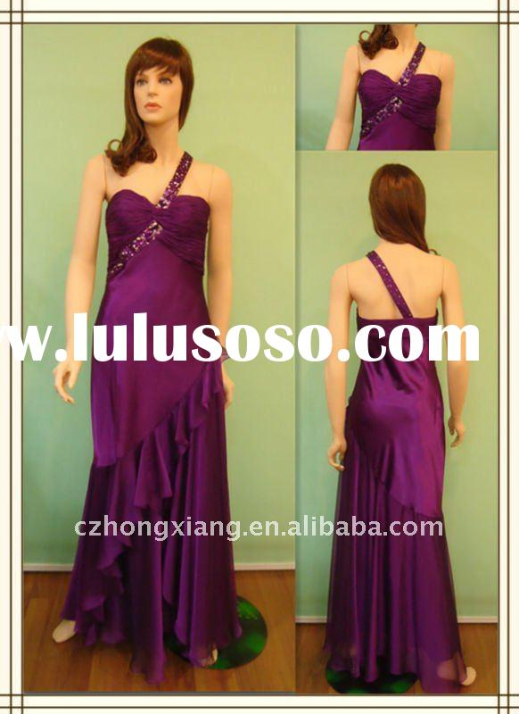 ladies' fashion evening dress