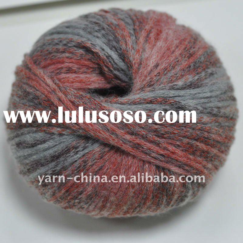 multicolor Acrylic blended knitting yarn