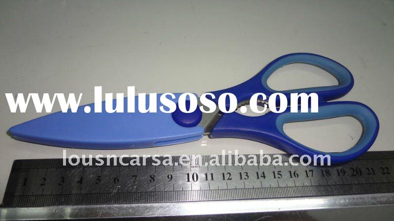 stainless steel Family Scissors  with plastic handle