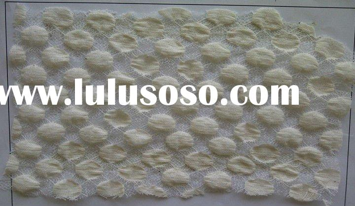 white cotton spandex knitted fabric