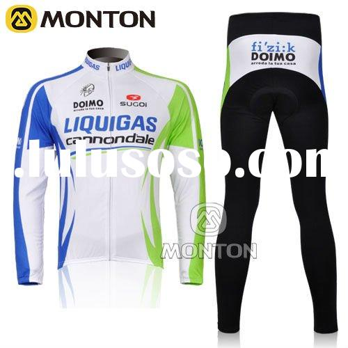 2011 Hot Sale Cycling Wear Thermal Long Sleeve