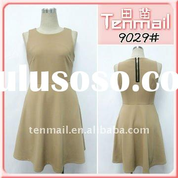 2011 Ladies` Fashion Artificial  Cotton Casual Dress