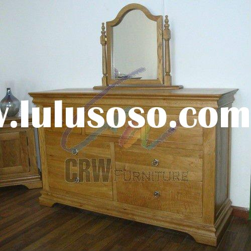 7 drawers chest Oak bedroon furniture