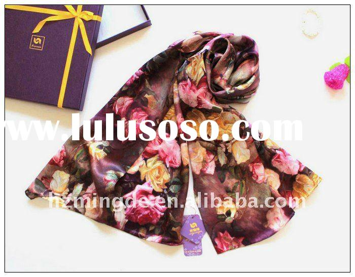 FASHION LADIES 100% SILK SCARF