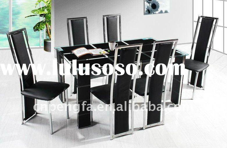 Quality Tempered Glass Dining Table Dining Room Furniture Dining Tables