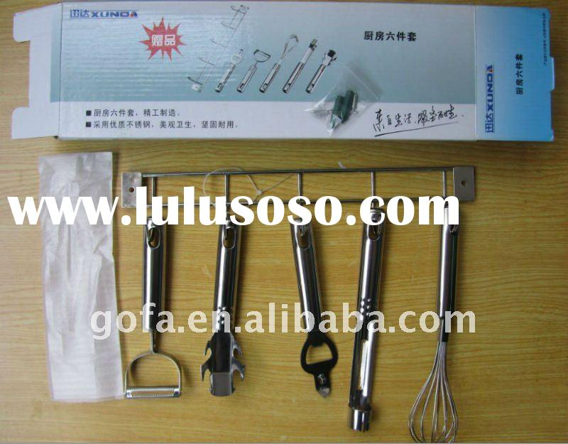 SSK-01 stainless steel kitchen tool 6pcs set