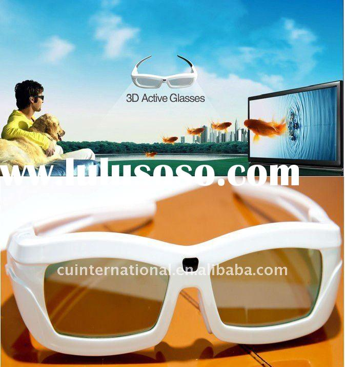 2011 Hot-selling 3D Active Shutter Glasses for Haier 3D TV with Competitive Price