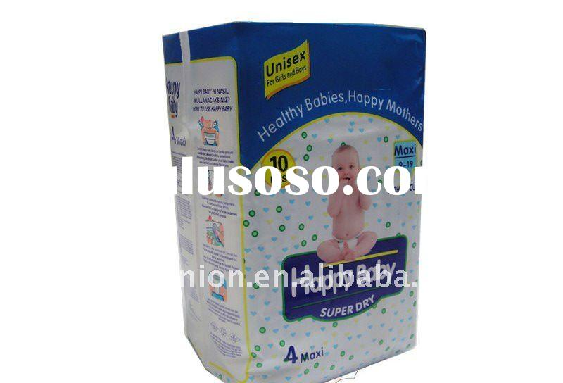 New style super abosorbent  Baby Diapers