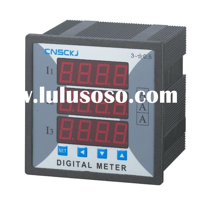 SCD914Z-9X4-3I  96*96 digital three phase  ammeter