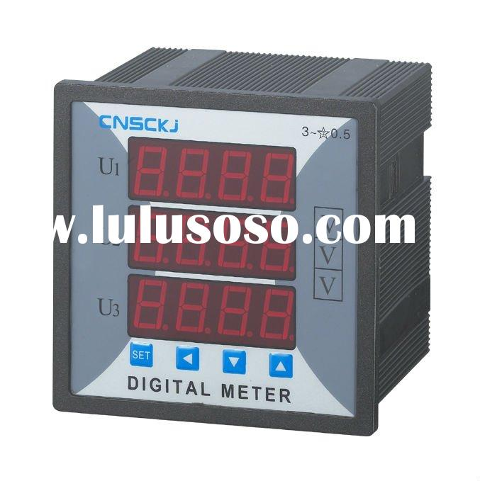 SCD914Z-9X4-3U  96*96 digital three phase  voltmeter