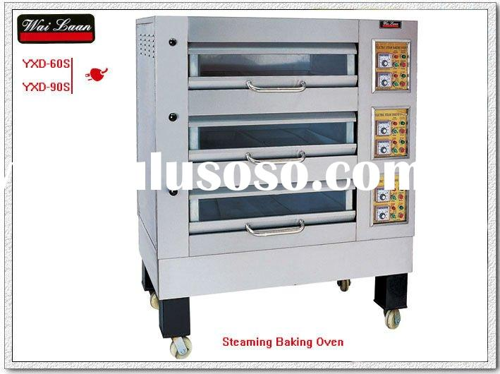 2011 year New 3-Deck electric Steaming baking oven