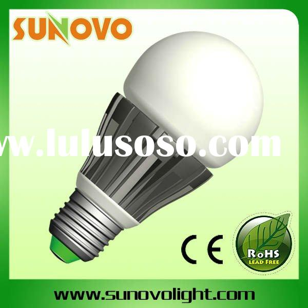8W  E27  110V 220V constant current and dimmable  heat conductive plastic led bulb