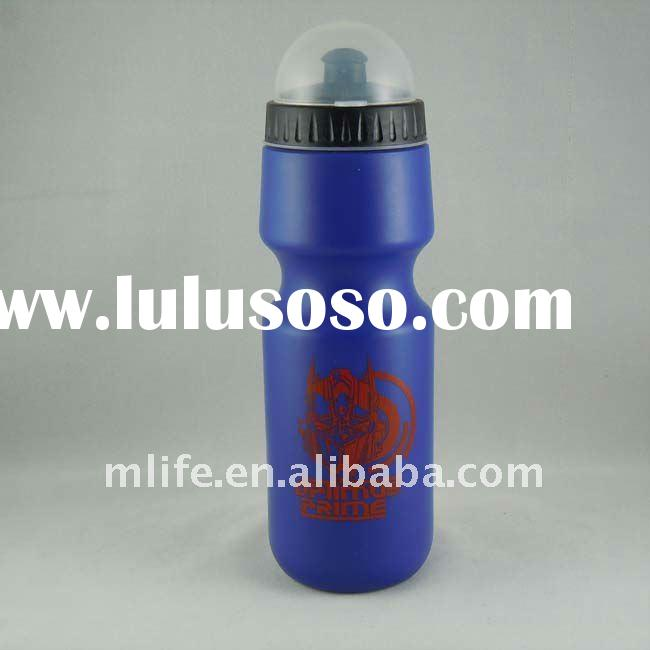 Food grade FDA LFGB SGS CE/EU BPA free sports plastic drinking water PE bottles with dust-proof cap