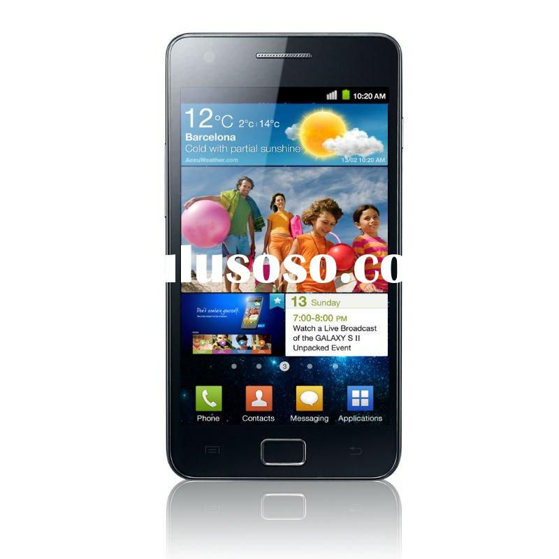 Hot HDC Android Galaxy S2 A9100 Android 2.3 Dual Sim 3G Mobile Phone with 4.3inch Capacitive Screen
