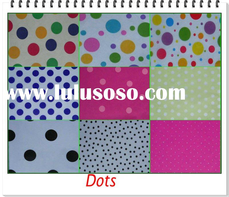 Premium Printed Tissue Paper of Dots Theme