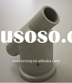 Stainless steel 3 way valve casting