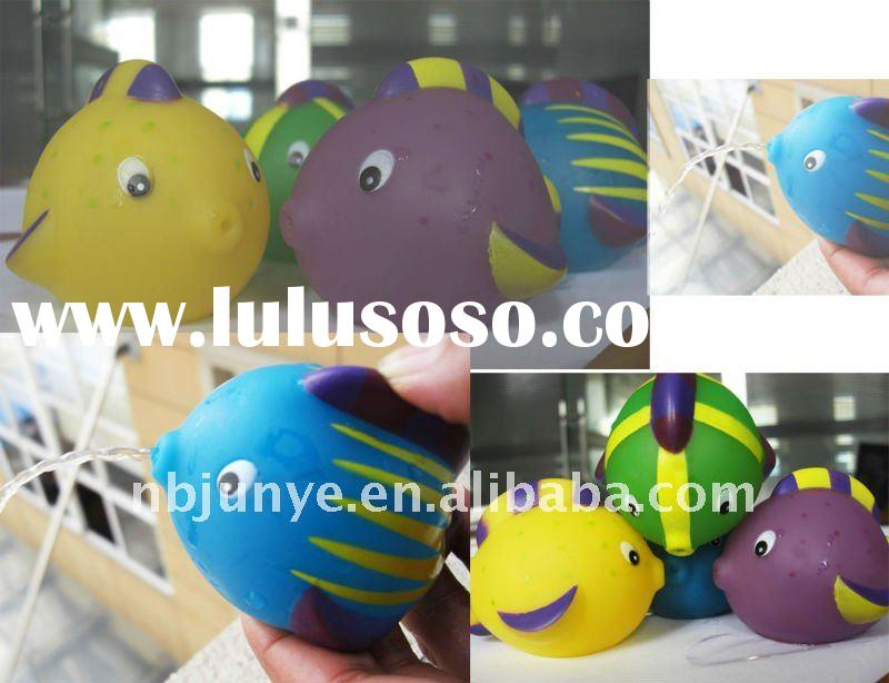 cute animal shaped watering vinyl toy