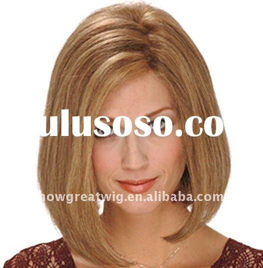 human hair full lace wigs with fashion Euro style for all woman
