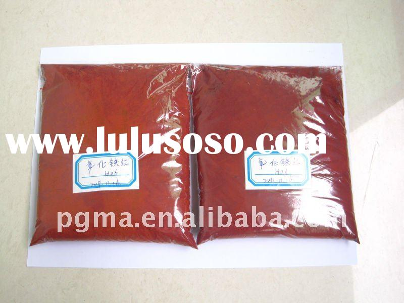 iron oxide red