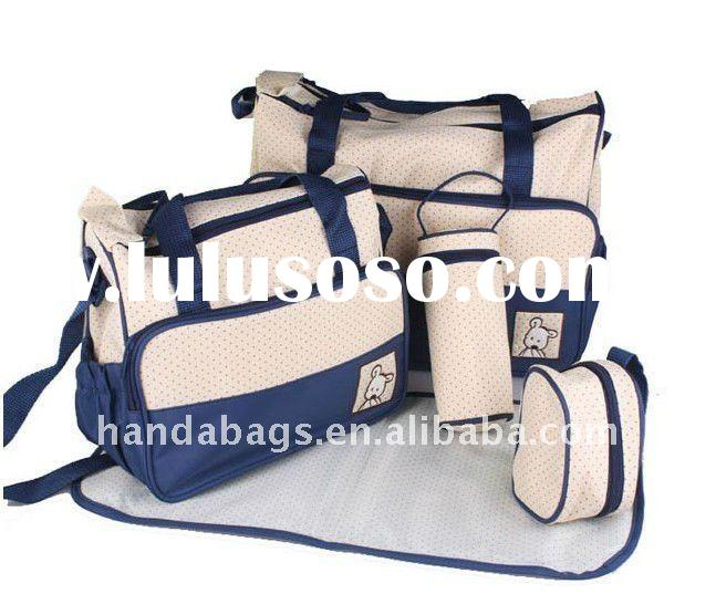 Baby diaper bag set/mummy bag
