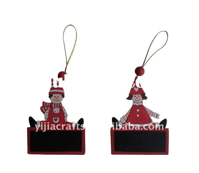 Christmas wooden decoration,christmas hanging decoration,chritmas santa claus hanging decoration