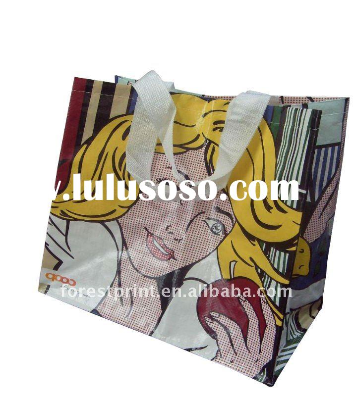High quality PP woven shopping bag