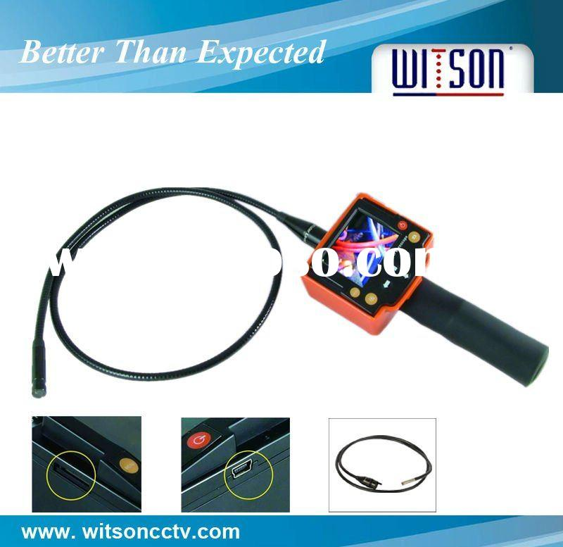 Recordable & Extenable video borescope inspection camera W3-CMP2809DX
