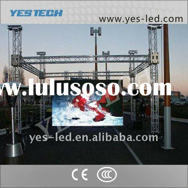 Rental video public led display outdoor