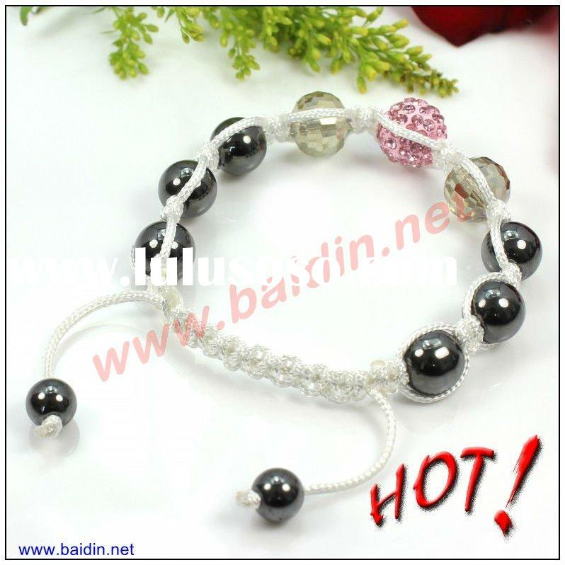 Cheap crystal shamballa bracelets IN BULK