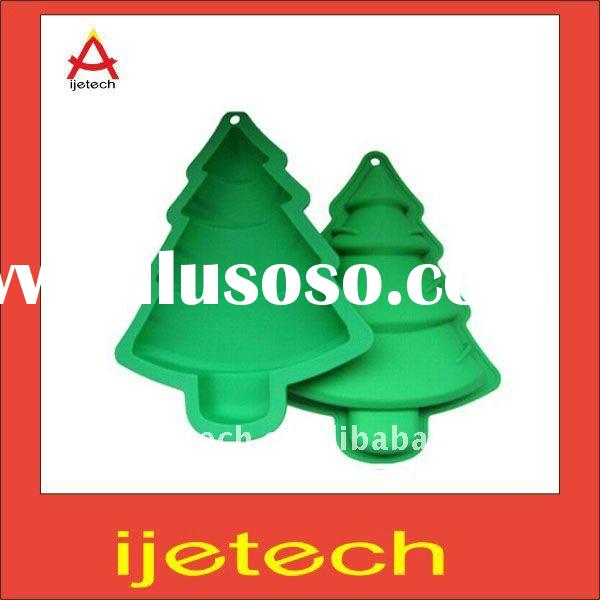 Silicone Christmas Tree Cake Molds