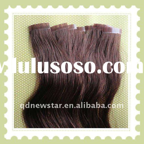 Top quality indian remy hair skin weft,no chemical processed.