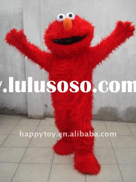 elmo mascot costume,costume for adults,costume,cartoon mascot,mascot1.