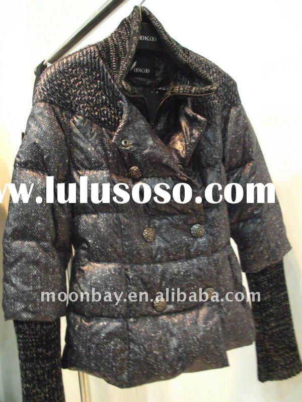 2012 new fashion lady's down jacket