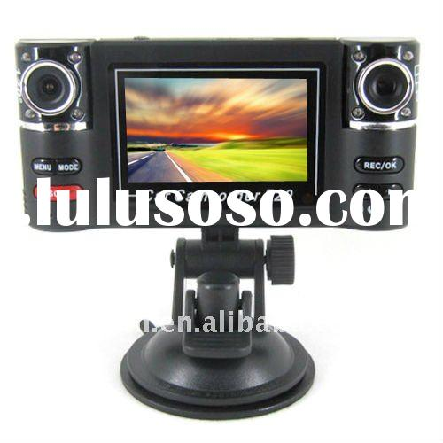 HD Dual Lens Car Camera with 2.7 inch LCD Screem and G-Sensor