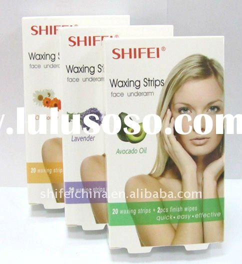 SHIFEI New Hair Removal/Depilatory Facial Cold Wax Strips,Ready Home Use
