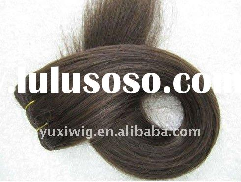 Silky Straight High Heat Resistant Synthetic Hair  with Factory Price