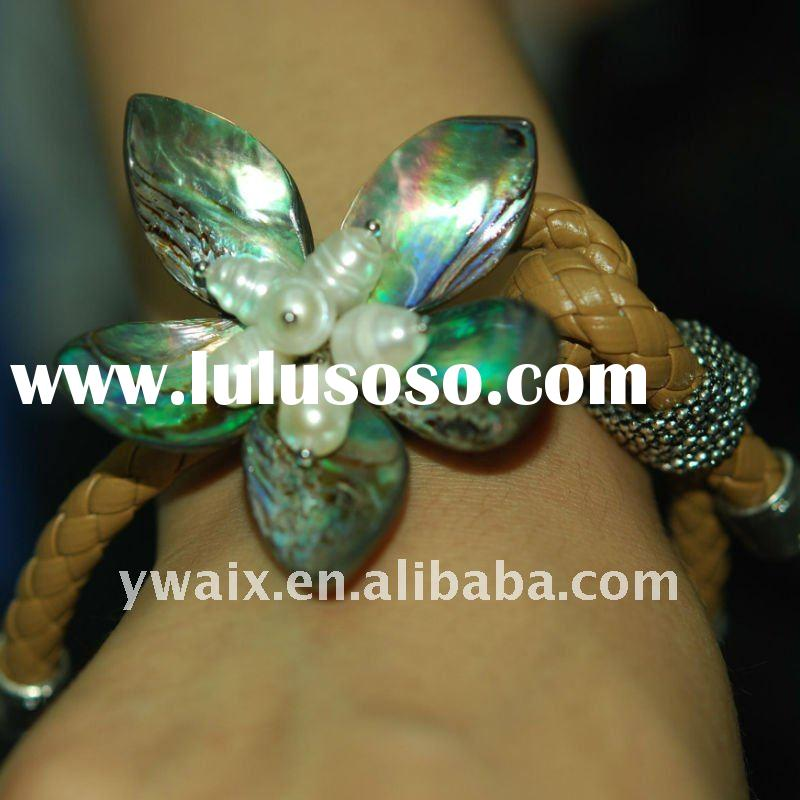 2011 Hot Selling 100% Hand Made Leather Bracelet